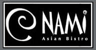 Nami Asian Bistro at Portman Marina on Lake Hartwell